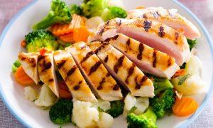 plat pour régime